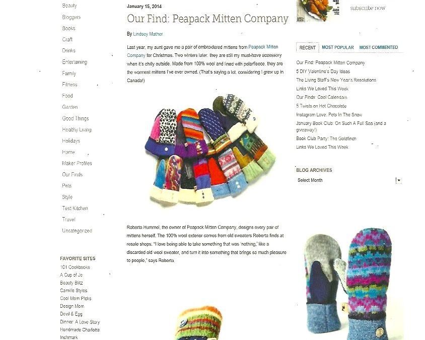 Featured On The Martha Stewart Living Blog
