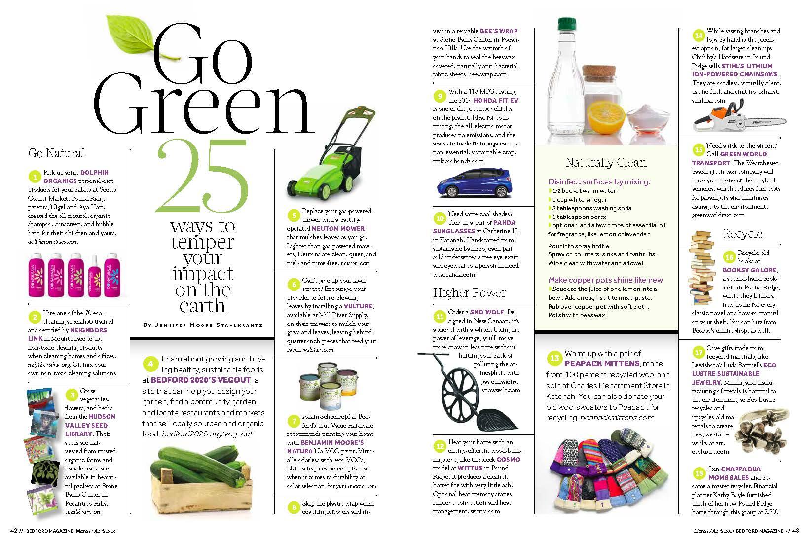 bedford magazine featured